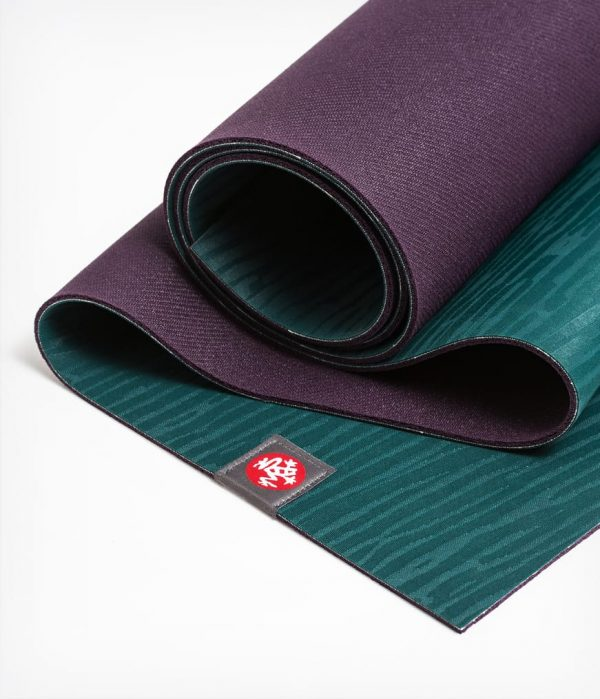 Manduka Yogamatte eKO Lite Thrive Dunkel-Grün