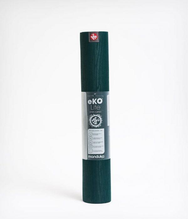 Manduka Yogamatte eKO Lite Thrive Dunkel-Grün 4
