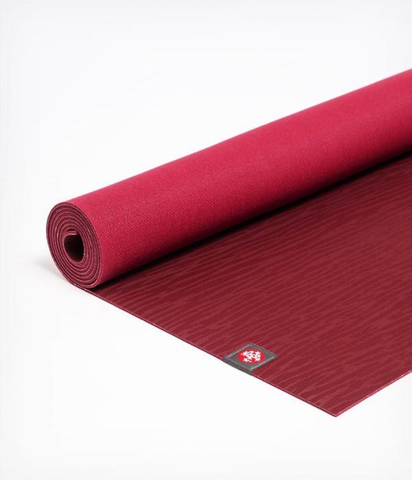 Manduka Yogamatte eKO Lite Verve Dunkel-Rot 2