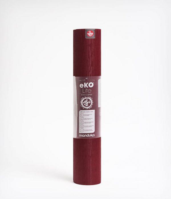 Manduka Yogamatte eKO Lite Verve Dunkel-Rot 4
