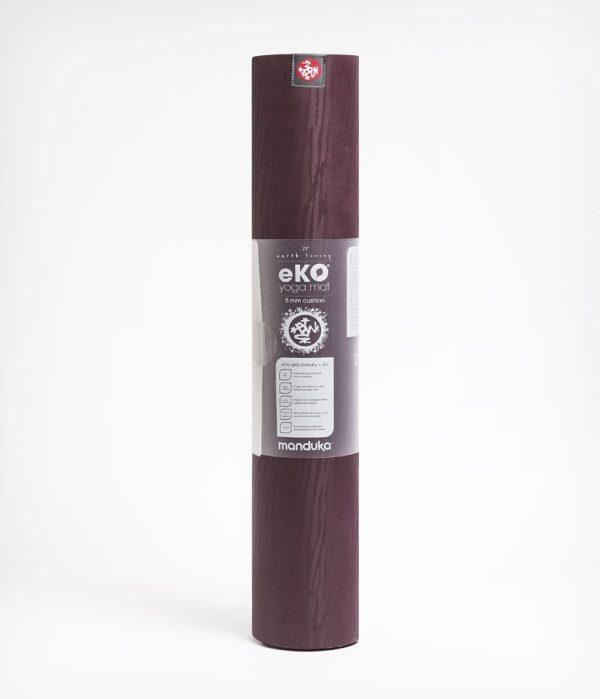 Manduka Yogamatte eKO Port Dunkel-Rot 4