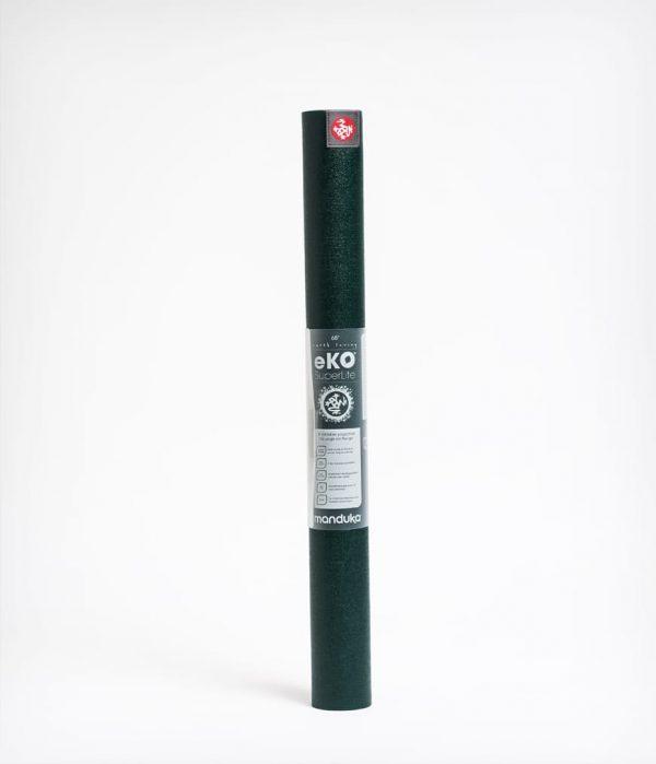 Manduka Reise-Yogamatte eKO SuperLite Thrive Dunkel-Grün 4