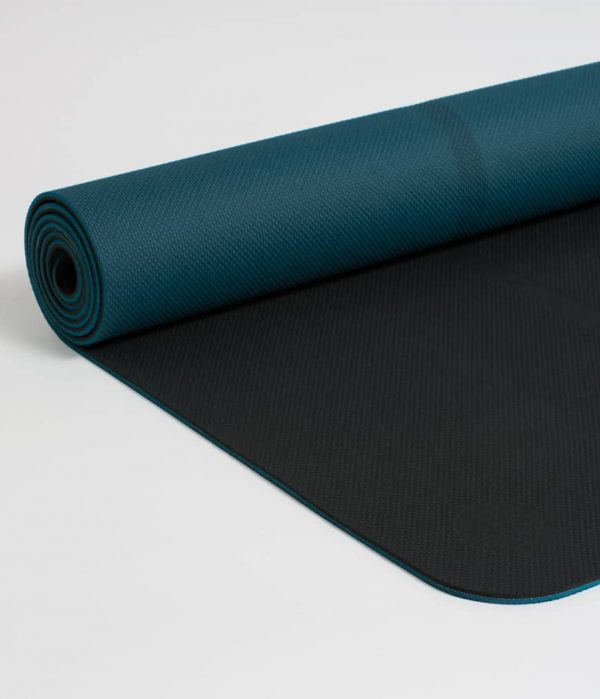 Manduka Yogamatte Welcome Mat Thunder Dunkel-Grau