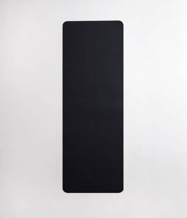 Manduka Yogamatte Welcome Mat Thunder Dunkel-Grau 6