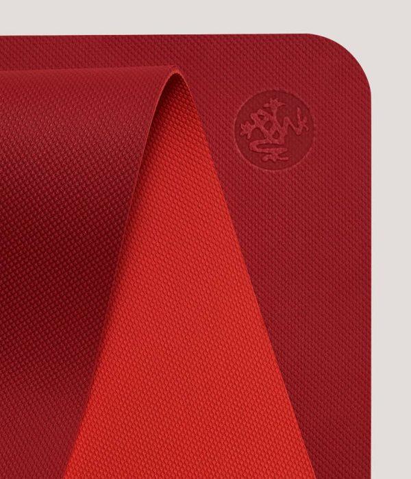 Manduka Yogamatte Welcome Mat Passion Mittel-Rot 6