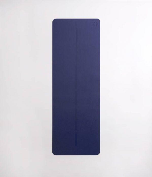 Manduka Yogamatte Welcome Mat Tranquil Blau 6