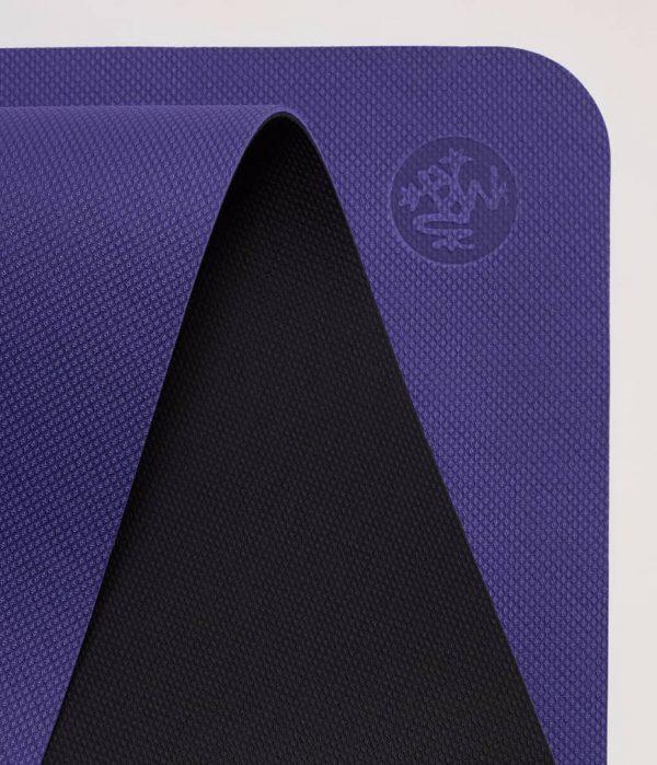 Manduka Yogamatte Welcome Mat Tranquil Blau 7