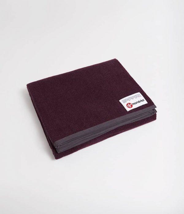 Manduka Woll-Decke Indulge Dunkel-Lila