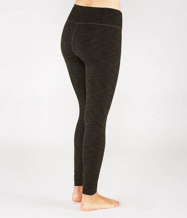 Manduka Yoga-Legging ESSENTIAL LEGGING OLIVINE HEATHER grün meliert für Frauen 2