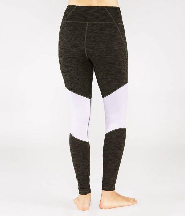 Manduka Yoga-Legging RADIANT LEGGING OLIVINE HEATHER grün meliert für Frauen 2