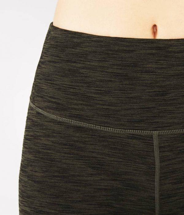 Manduka Yoga-Legging RADIANT LEGGING OLIVINE HEATHER grün meliert für Frauen 3