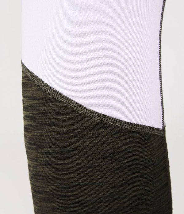 Manduka Yoga-Legging RADIANT LEGGING OLIVINE HEATHER grün meliert für Frauen 6