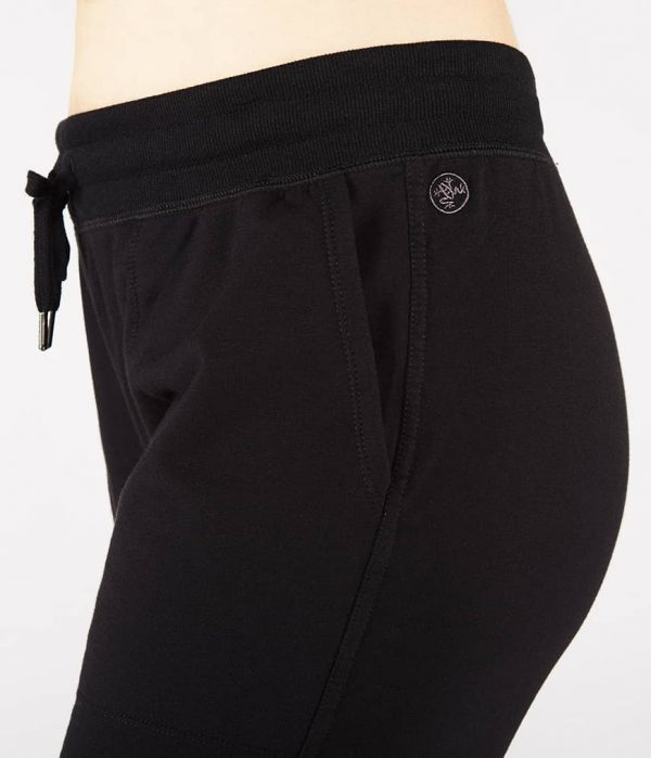 Manduka Yoga-Jogger RESOLUTION JOGGER BLACK schwarz für Frauen 3