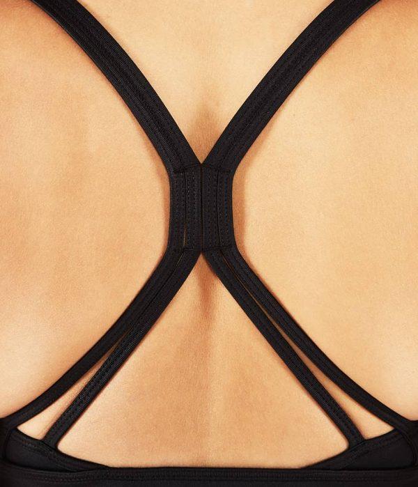 Manduka Yoga-Oberteil CORSET BRA BLACK SHEEN schwarz-schimmernd für Frauen 5