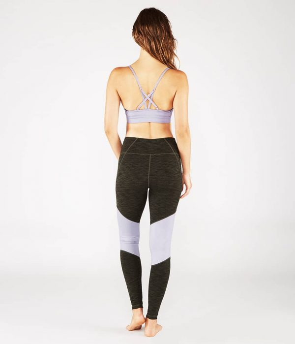 Manduka Yoga-Bustier PINTUCK BRA LAVENDER SHEEN lavendel-schimmernd für Frauen 7