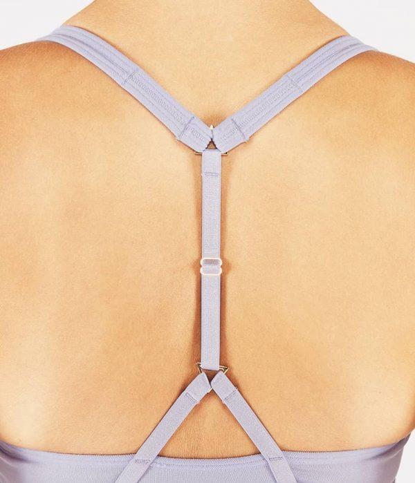 Manduka Yoga-Oberteil PERFECT BRALETTE LAVENDER SHEEN lavendel-schimmernd für Frauen 4