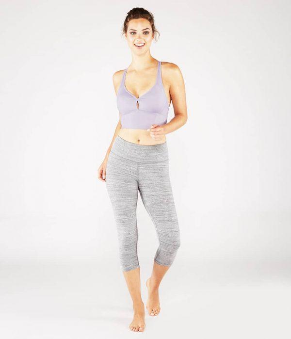 Manduka Yoga-Oberteil PERFECT BRALETTE LAVENDER SHEEN lavendel-schimmernd für Frauen 6