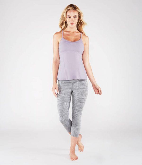 Manduka Yoga-Oberteil PINTUCK CAMI LAVENDER lavendel für Frauen 7