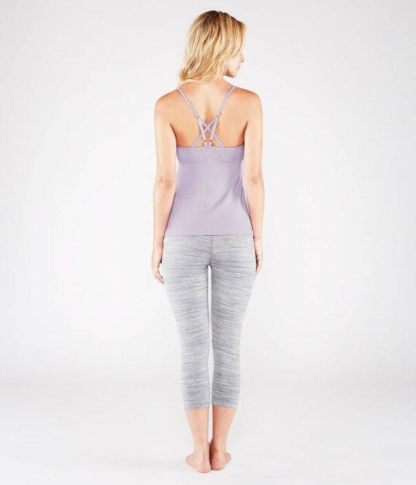 Manduka Yoga-Oberteil PINTUCK CAMI LAVENDER lavendel für Frauen 8