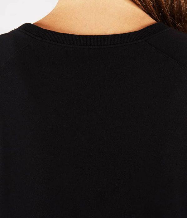 Manduka Yoga-Wickelshirt RESOLUTION CREW BLACK schwarz für Frauen 4