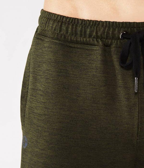 Manduka Yoga-Hose UTILITY KNIT PANT OLIVINE HEATHER grün meliert für Männer 1