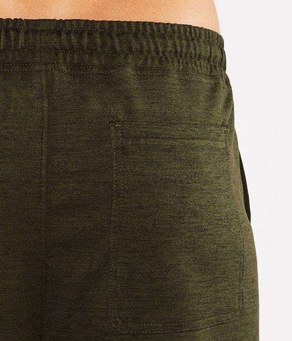 Manduka Yoga-Hose UTILITY KNIT PANT OLIVINE HEATHER grün meliert für Männer 2