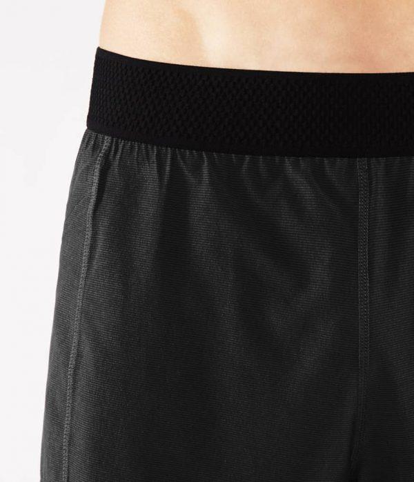 Manduka Yoga-Short DAILY LITE BLACK schwarz für Männer 3