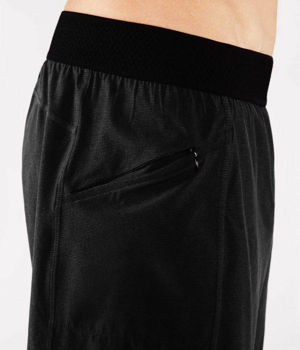Manduka Yoga-Short DAILY LITE BLACK schwarz für Männer 5