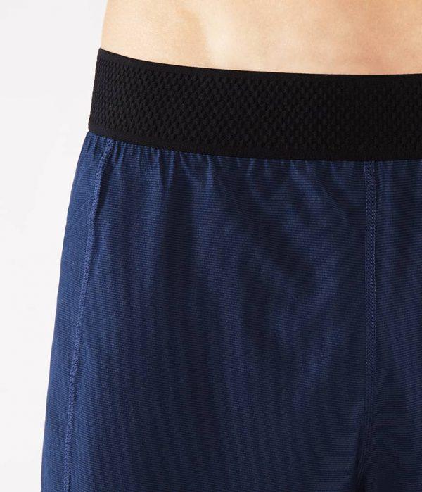 Manduka Yoga-Short DAILY LITE MIDNIGHT blau für Männer 3