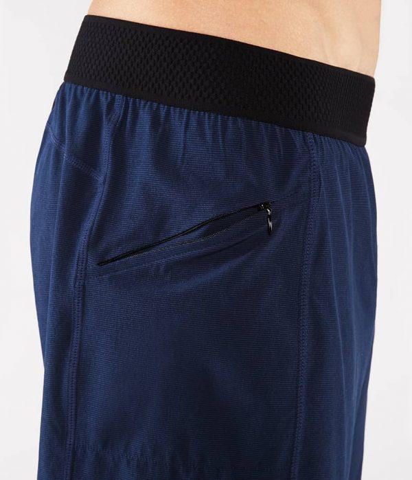 Manduka Yoga-Short DAILY LITE MIDNIGHT blau für Männer 5