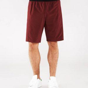 Manduka Yoga-Short DAILY LITE PORT dunkel-rot für Männer 1