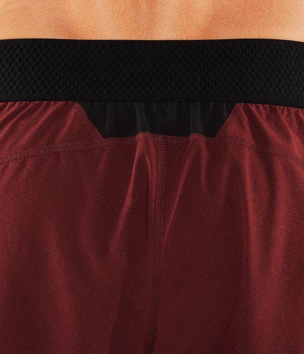 Manduka Yoga-Short DAILY LITE PORT dunkel-rot für Männer 7