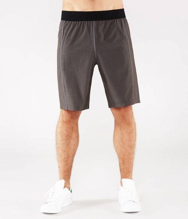 Manduka Yoga-Short DAILY LITE THUNDER grau für Männer 1