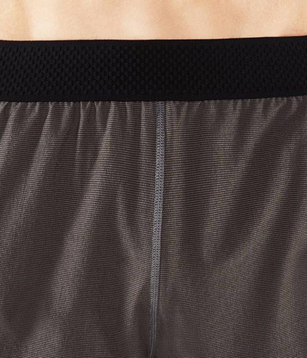 Manduka Yoga-Short DAILY LITE THUNDER grau für Männer 4