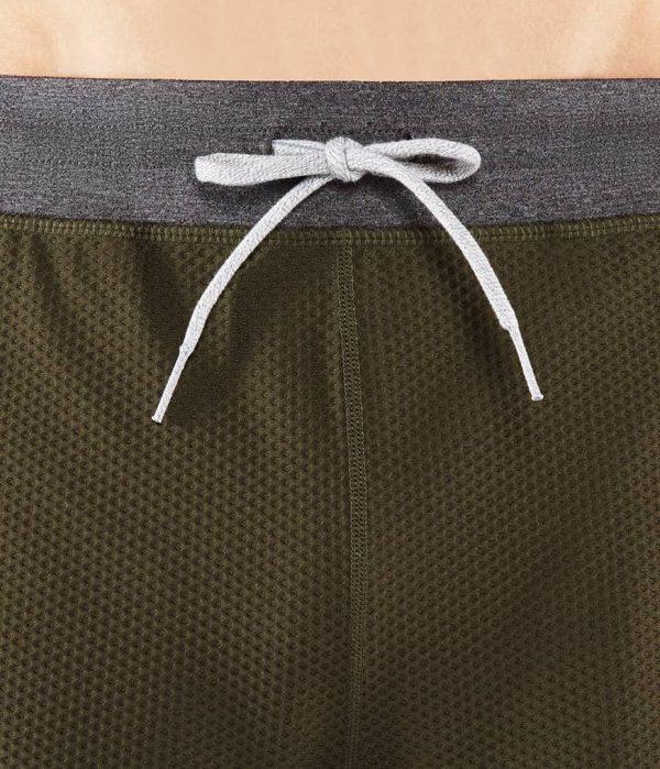 Manduka Yoga-Short PERFORMANCE MESH SHORT OLIVINE oliv-grün für Männer 4