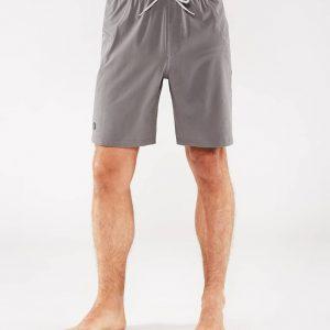 Manduka Yoga-Short MANDUKA X SHORT THUNDER grau für Männer 1