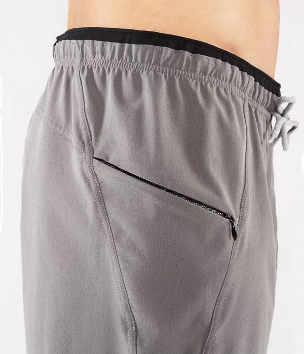 Manduka Yoga-Short MANDUKA X SHORT THUNDER grau für Männer 5