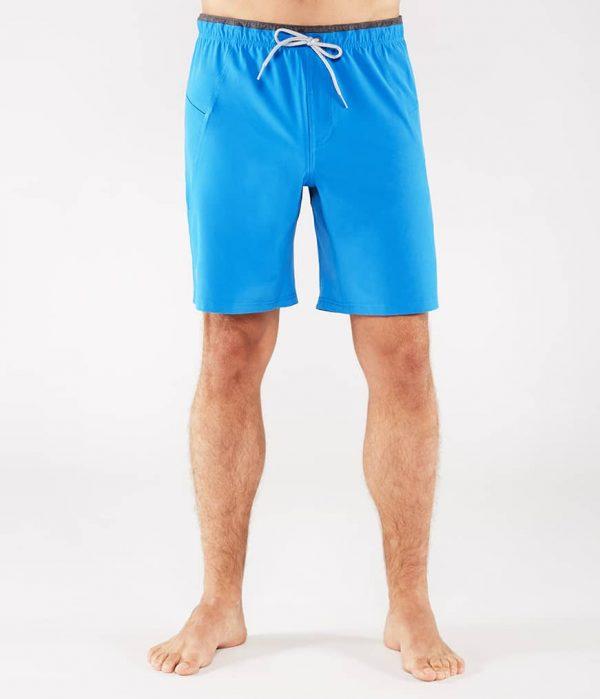 Manduka Yoga-Short MANDUKA X SHORT TRUE BLUE hell-blau für Männer 1