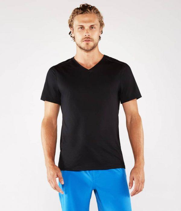 Manduka Yoga-Shirt MINIMALIST TEE 2.0 BLACK schwarz für Männer 1