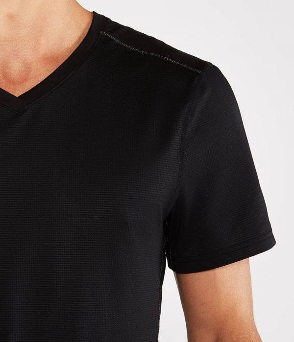 Manduka Yoga-Shirt MINIMALIST TEE 2.0 BLACK schwarz für Männer 2