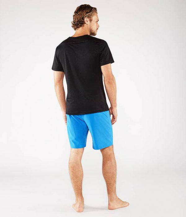 Manduka Yoga-Shirt MINIMALIST TEE 2.0 BLACK schwarz für Männer 5