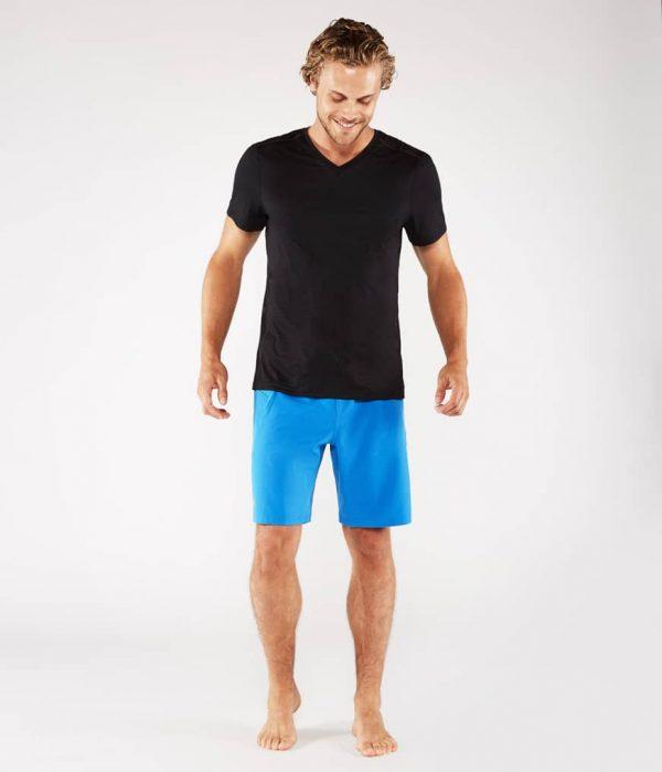 Manduka Yoga-Shirt MINIMALIST TEE 2.0 BLACK schwarz für Männer 6