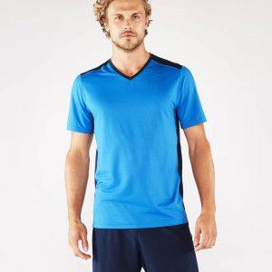 Manduka Yoga-Shirt MINIMALIST TEE 2.0 TRUE BLUE hell-blau für Männer 1