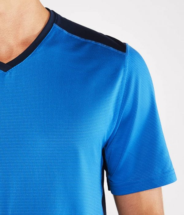 Manduka Yoga-Shirt MINIMALIST TEE 2.0 TRUE BLUE hell-blau für Männer 2
