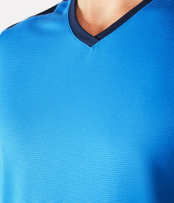 Manduka Yoga-Shirt MINIMALIST TEE 2.0 TRUE BLUE hell-blau für Männer 3