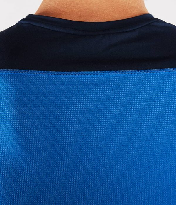 Manduka Yoga-Shirt MINIMALIST TEE 2.0 TRUE BLUE hell-blau für Männer 4