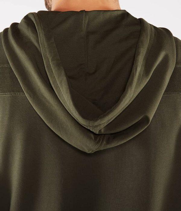 Manduka Yoga-Hoodie INTENTIONAL ZIP HOODIE OLIVINE oliv-grün für Männer 5