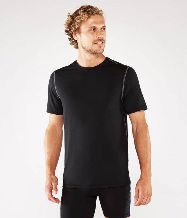 Manduka Yoga-Shirt CROSS TRAIN TEE BLACK schwarz für Männer 2