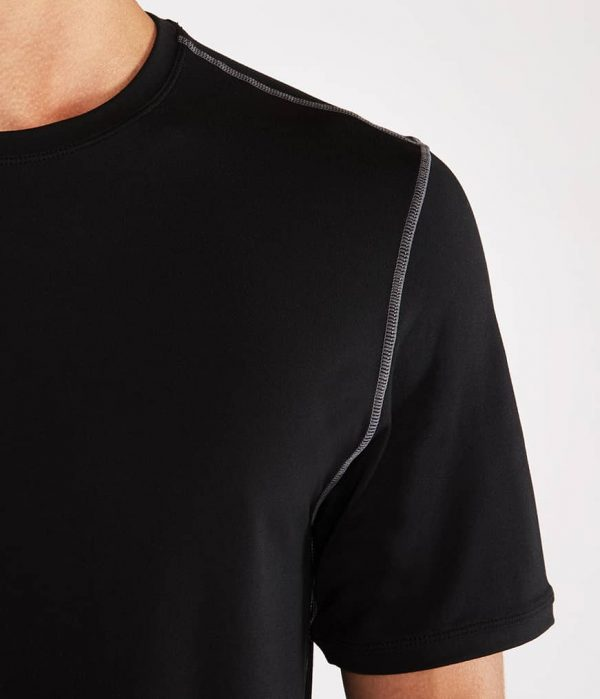 Manduka Yoga-Shirt CROSS TRAIN TEE BLACK schwarz für Männer 3