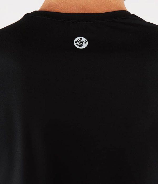 Manduka Yoga-Shirt CROSS TRAIN TEE BLACK schwarz für Männer 4